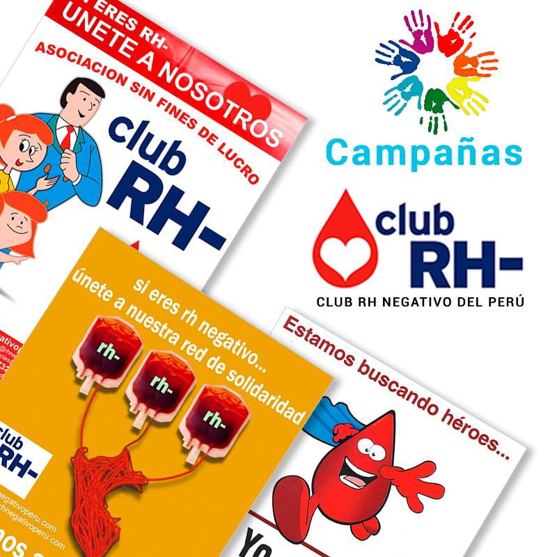 Campañas Club RH Negativo
