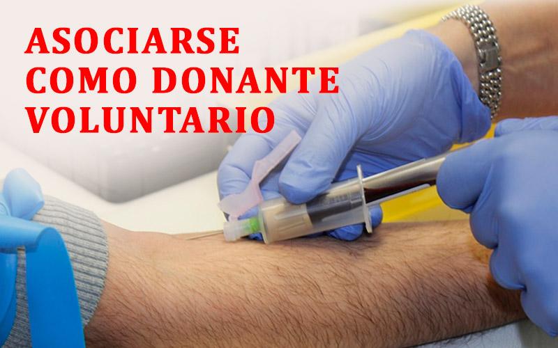 Asociarse como Donante Voluntario Club RH Negativo Perú