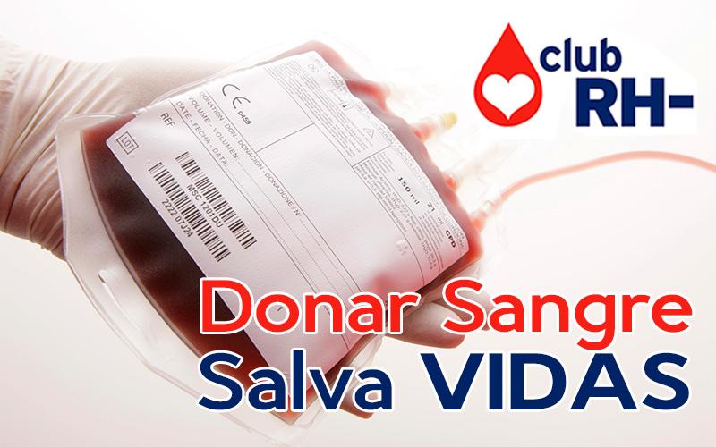 Condiciones y necesidades de unidades de sangre