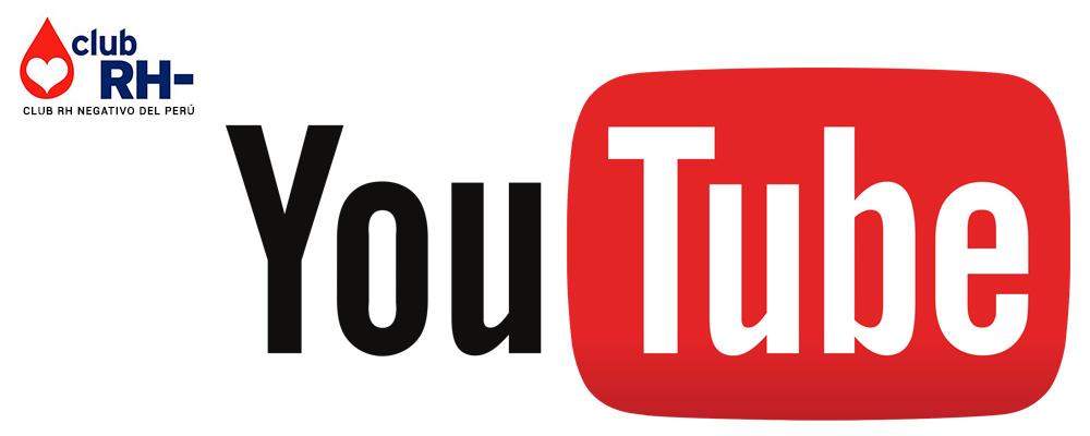 Canal Youtube Club RH Negativo
