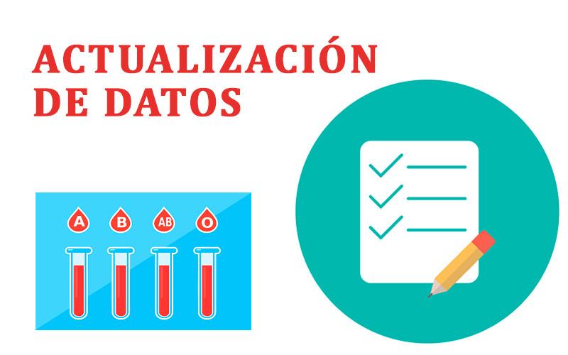 Actualización de datos Club Rhnegativo Perú