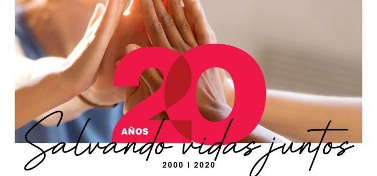 20 años Salvando Vidas