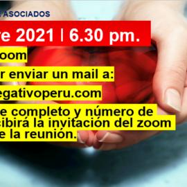 Reunión Bimensual Club Rh Negativo, martes 14 de diciembre de 2021 vía ZOOM